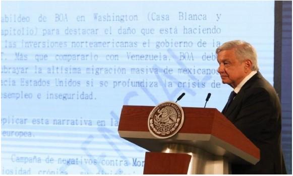 López Obrador denuncia supuesto plan para revocarle el mandato presidencial