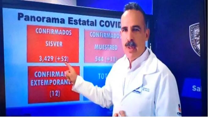 Hasta el momento 42 municipios tienen casos confirmados, se agregó Ocampo con un caso