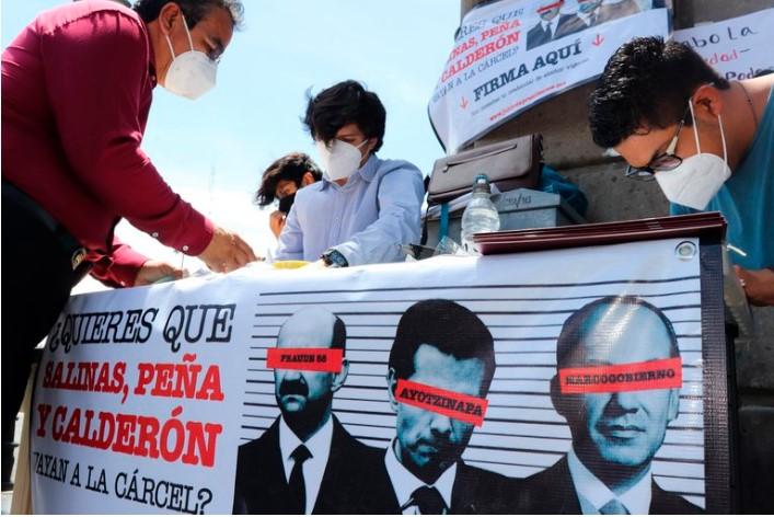 El Gobierno no dará recursos al INE para la consulta de juicio a expresidentes