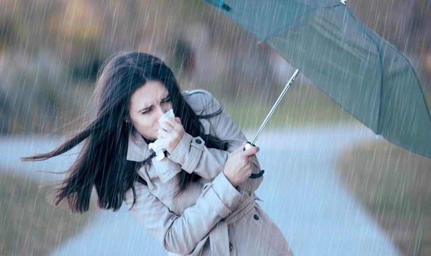 Se pronostican lluvias aisladas y rachas de viento de hasta 65 km por hora en varias regiones del estado