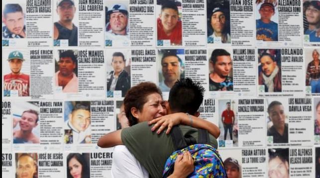 En día de las madres, mujeres exigen información de sus hijos desaparecidos
