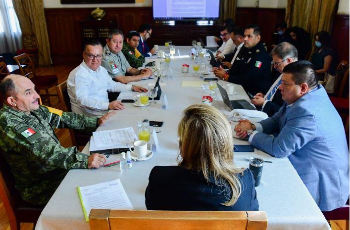 Analiza Gobernadora situación general de Chihuahua en sesión semanal del Consejo Estatal de Seguridad