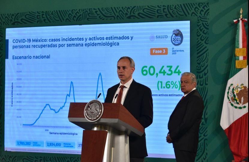 Variante Mu del covid ya está en México pero no representa riesgo: López-Gatell