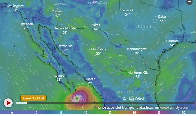 Atención: Olaf ya es huracán; amenaza estos estados