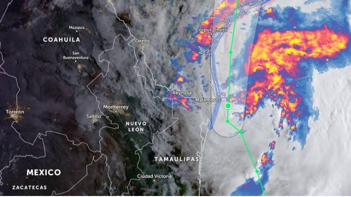 Ciclón tropical Nicholas: esta será su trayectoria el lunes 13 de septiembre
