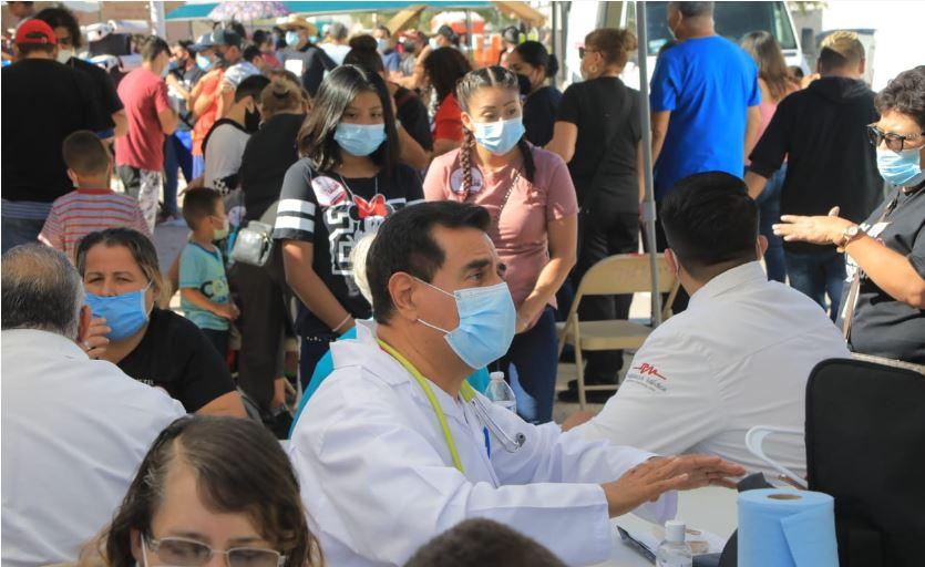 Juarez: Vecinos aprovechan servicios de la Cruzada por la Salud