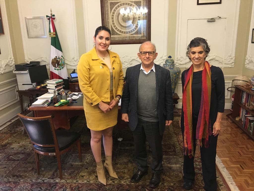 SE REÚNE DIPUTADA AMÉRICA GARCÍA CON DIRECTOR GENERAL DEL INAH Y PRESENTA PROYECTOS